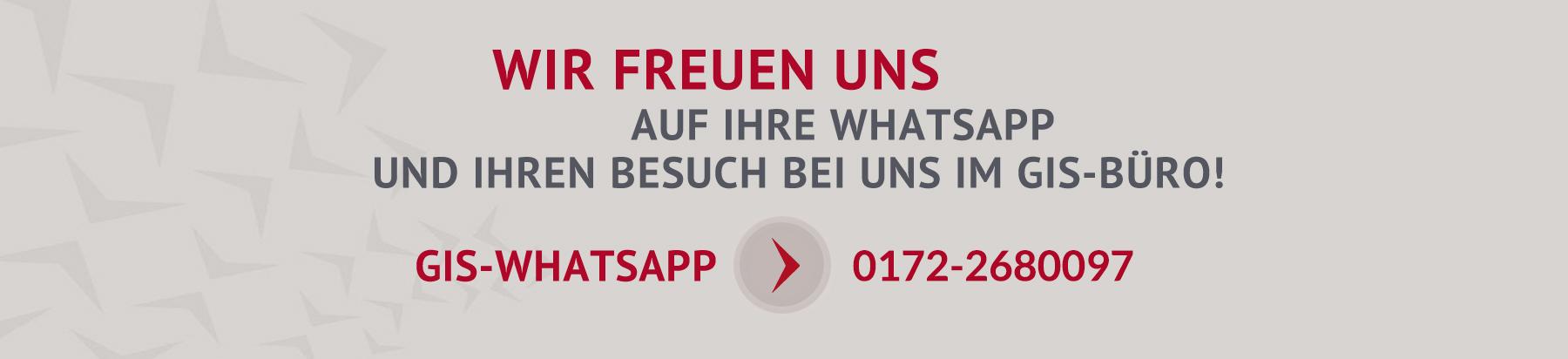 Telefonnnummer GIS Personallogistik Whatsapp